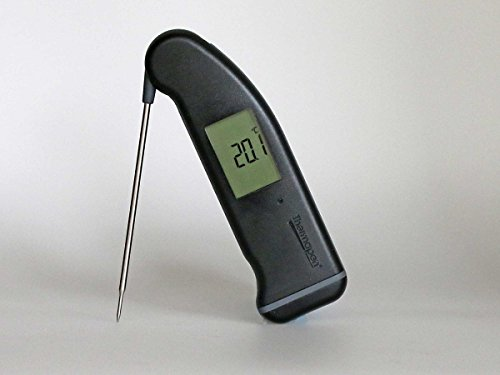 ETI Superfast Thermapen ® Mk 4 - schwarz l Digitales Grill und Braten Thermomether
