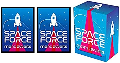 50 Space Force Card Sleeves Legion Events Standard CCG Size
