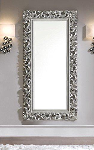 Specchi Barocchi Per Bagno.Dugarhome Specchio Moderno Stile Barocco Argento
