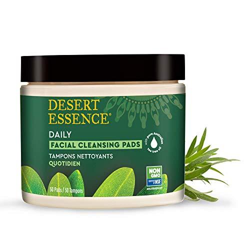 Facial Cleansing Pads Natural Tea Tree Oil 50 pads