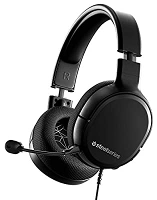 SteelSeries Arctis 1 - All-platform compatibility - for PC, PS4, Xbox, Nintendo Switch, Mobile - Detachable ClearCast Microphone