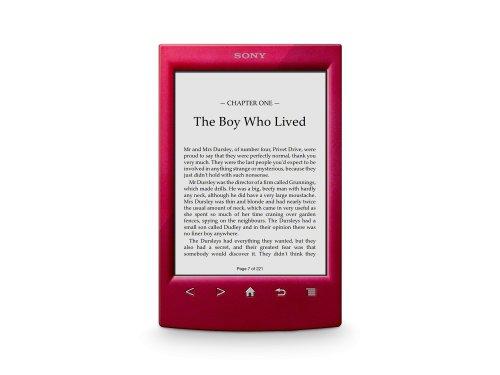 Sony PRS-T2 e-book, Wi-Fi, Rosso