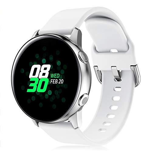 Onedream Correa Compatible con Samsung Galaxy Watch Active/Active 2 44mm 40mm Pulsera...