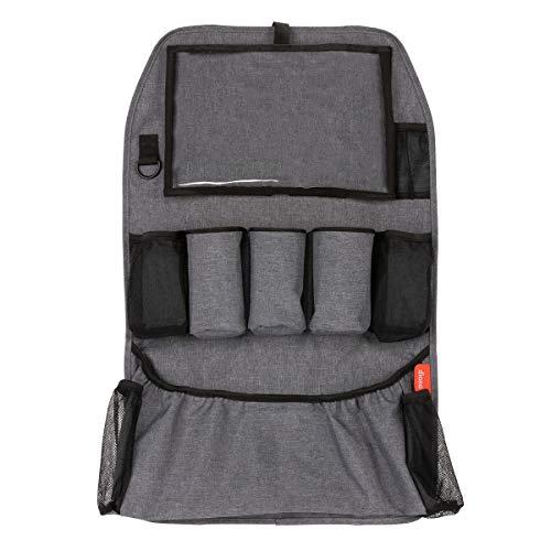 Diono Stow 'n Go XL Organizador de asiento trasero de coche para niños, protector de asiento trasero