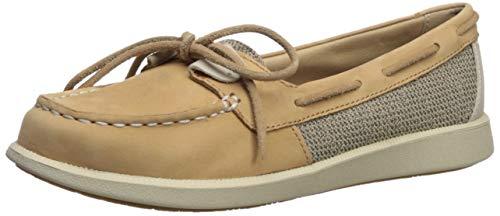Sperry Women's Oasis Loft Boat Shoe, Linen/Oat, 5.5