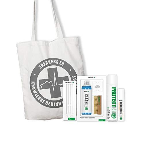 SNEAKERS ER Kit d'entretien de qualité supérieure pour nettoyer et protéger les baskets, baskets et chaussures