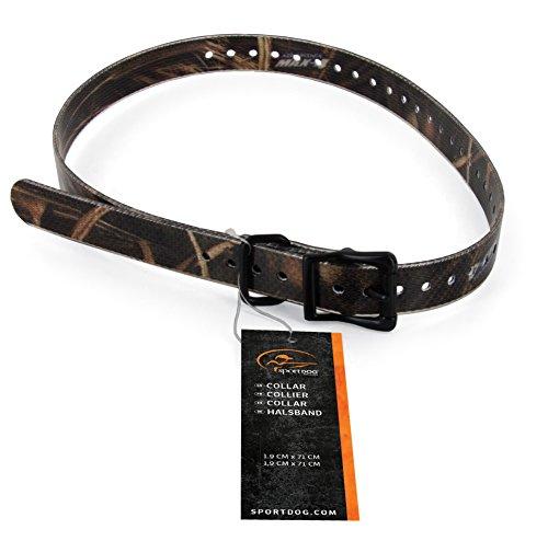 SportDOG Hunde Halsbänder wetterfest + rostfest, für Jagd- und Apportierhunde, Halsumfang 12,7 cm - 55,9 cm, 1,9 cm breit, camo