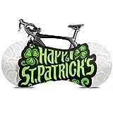 Cubierta de la rueda de bicicleta Vector Logo abstracto Día de San Patricio Bicicleta antipolvo Bolsa de almacenamiento interior A prueba de arañazos, lavable Paquete de neumáticos de alta elasticida
