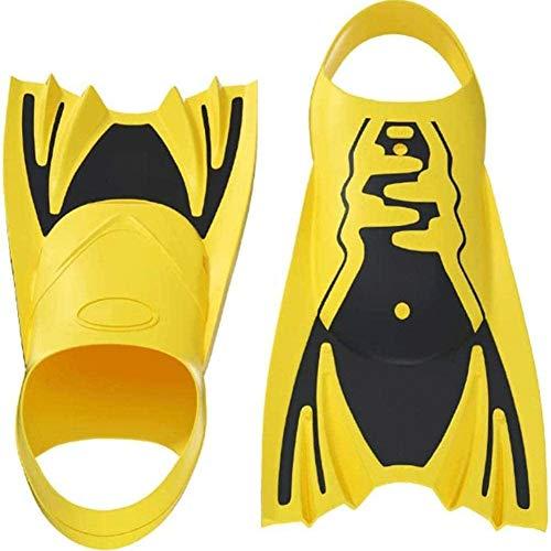 Big Shark Kinderschwimmflossen Sport Schnorchel Flossen, liefert Adjustable Travel Size Schwimmflossen Wassersport (Size : S)