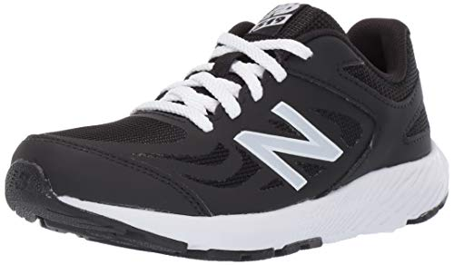 New Balance Boys' 519v1 Running Shoe, BLACK, 1M