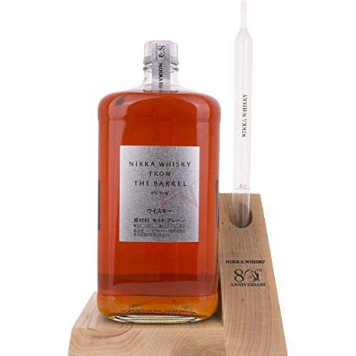 Nikka Whisky From the Barrel 80th Anniversary Edition + Aufsteller mit Portinierer (1 x 3 l)