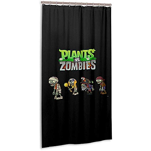 cortinas baño zombies vs plantas