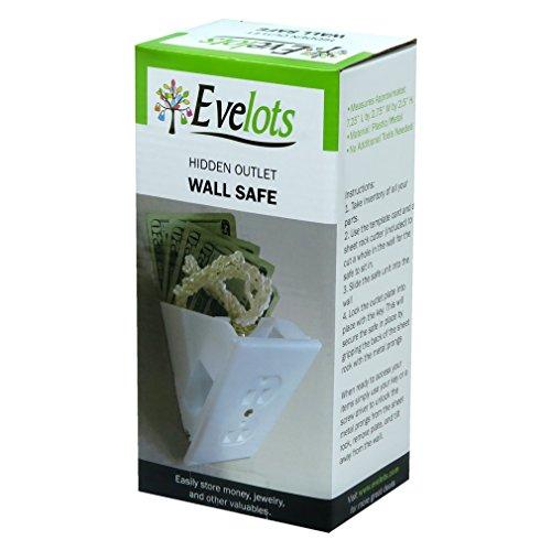 Evelots Hidden Wall Safe Diversion Safe Outlet Safe, Hide Valuables, Cash Photo #4