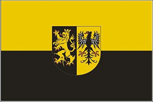 U24 Fahne Flagge Landkreis Vogtland 90 x 150 cm