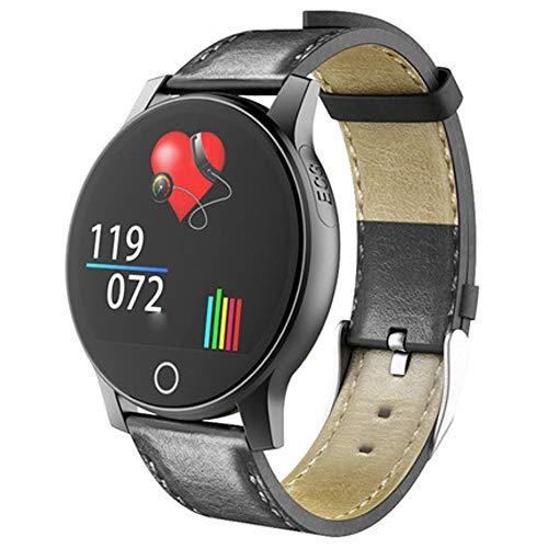 FWwD EKG Smartwatch, Sportuhr EKG + PPG EKG HRV-Bericht Herzfrequenz-Blutdrucktest Informationen Push Männer und Frauen SMS Erinnerung Schlafüberwachung IP67 wasserdicht