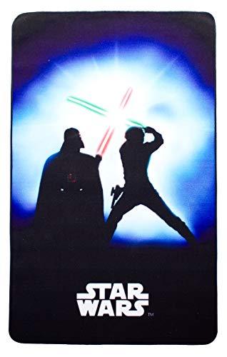 Star Wars Teppich Feinde 100x160cm Joda Luke Skywalker Darth Vader Lego kinderland24 Kinderteppich zur Bettwäsche