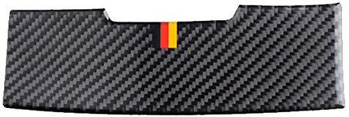 , Apto para Mercedes Benz Clase C W205 GLC X253 2015-2018Panel de luz de Lectura de Fibra de Carbono de Coche Etiqueta de decoración Auto Lámpara de Techo Calcomanía-Tricolor