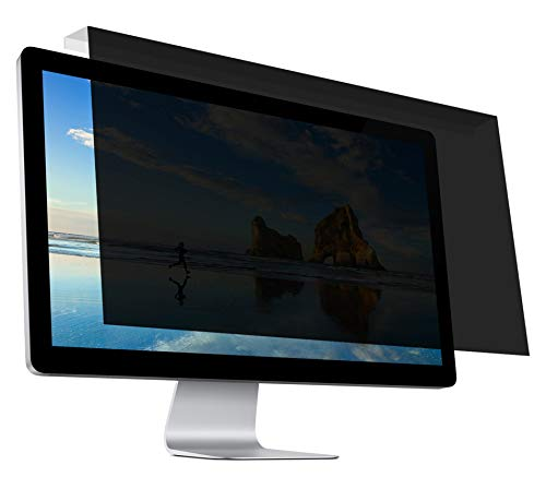 """Hanging Privacy Screen Filter for Widescreen Monitors 20 Inch to 22 Inch (20"""",20.1"""",21.5"""",22"""") 16:9/16:10 Aspect Ratio"""