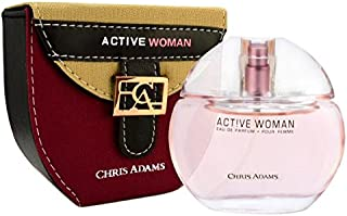 Chris Adams Perfumes Hot Active Woman Perfume for Women, Platinum Collection