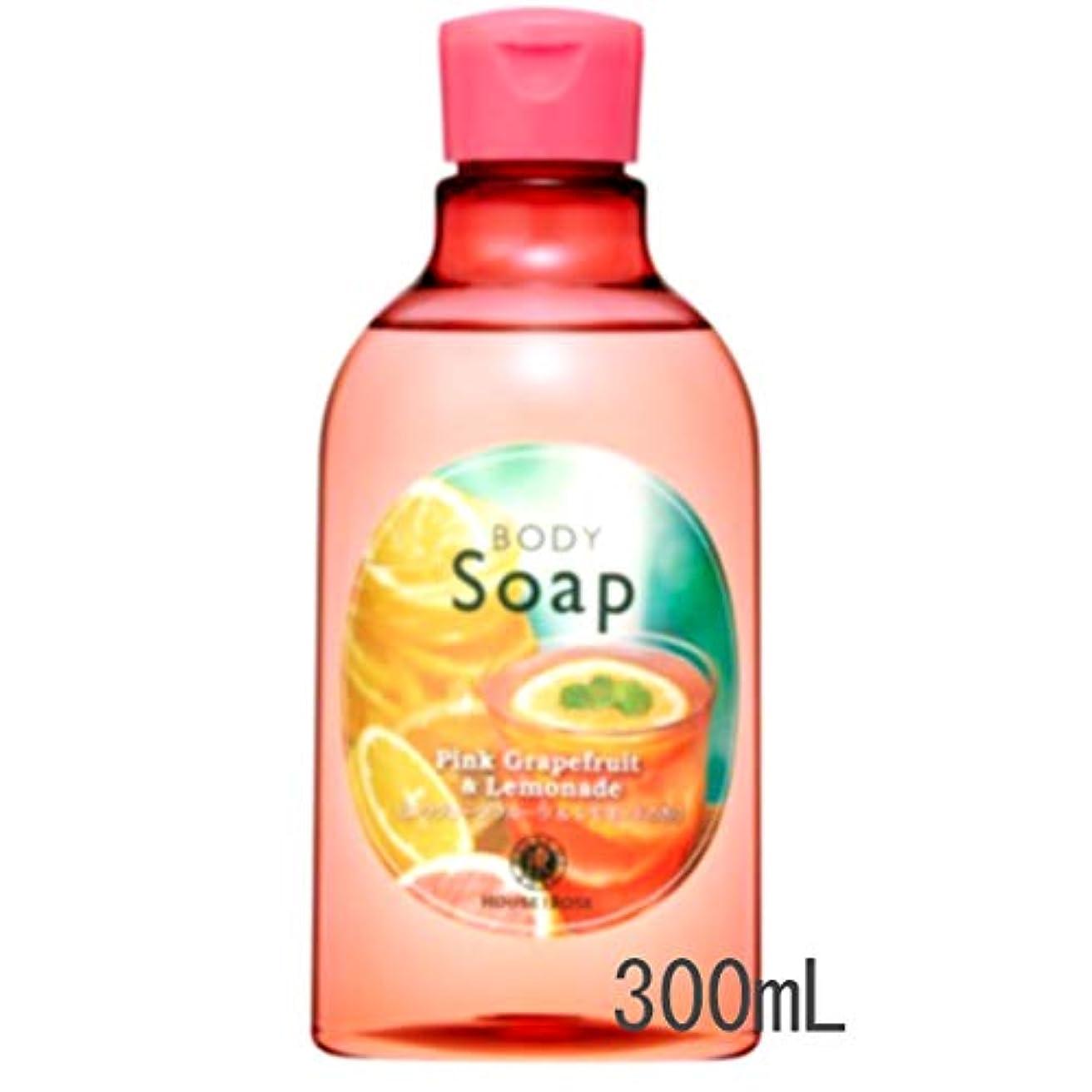 ガレージカメ控えるHOUSE OF ROSE(ハウスオブローゼ) ボディソープ PL(ピンクグレープフルーツ&レモネードの香り)300mL