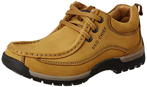 Red Chief Men's Rust Boat Shoes - 9 UK/India (43 EU)(RC2104)