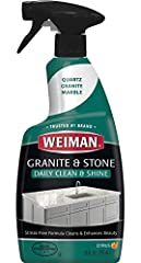 Specialized Formula - Made specifically for daily cleaning and polishing natural stone surfaces. Steak-Free - Safely removes grease, grime, water marks and stains without leaving behind streaks. Protect - Our pH balanced formula will keep your stone'...