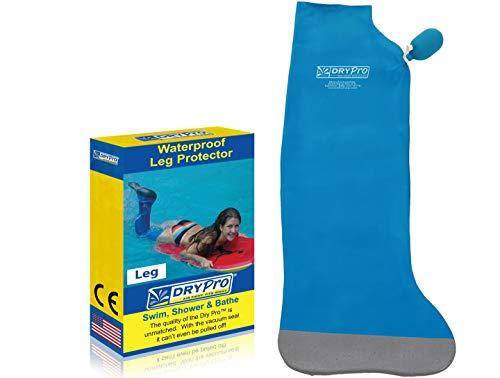 DryCorp Waterproof Full Leg Cast Cover, Medium, Blue (FL-16)