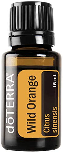 Doterra Wild Orange Essential Oil - Powerful Cleanser And Purifying Agent, Supports Healthy Immune Function, Uplifts Mind And Body; For Diffusion, Internal, Or Topical Use - 15 Ml