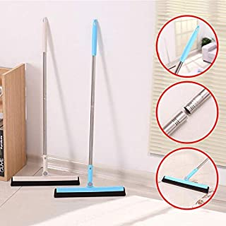 Easy to Clean and Clean Without Dead Ends Brush Head Can Be Bent Freel Toilet Brush and Holder Set Good Toughness Upgraded Flat Design