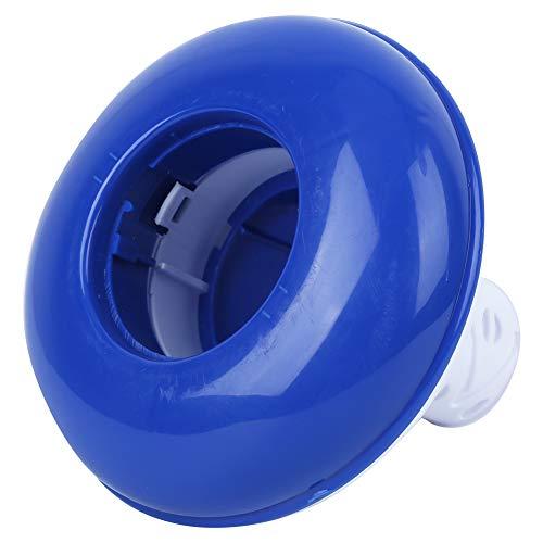 Changor Piscina Dispensador, Fondo Piscina Cloro Flotador Nadando Experiencia El plastico 13cm