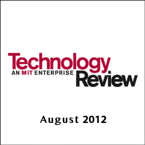 Audible Technology Review, August 2012 cover art