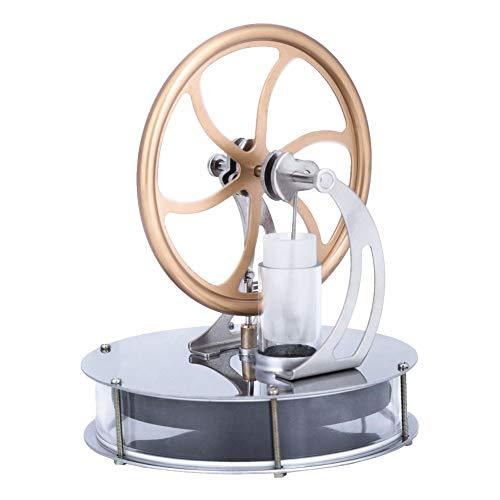 Baja temperatura Stirling motor motor vapor calor educación modelo huir la diferencia de temperatura juguete regalo para niños colección artesanal