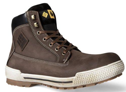 2work4 Sicherheitsschuh Bison Stiefel Nubuk Leder S3 Boots (44)