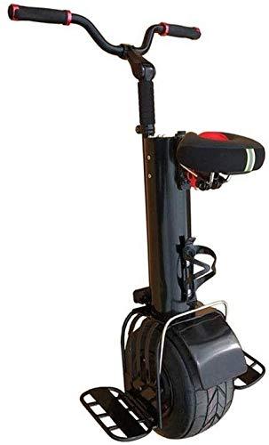 JILIGUALA Cubierta de protección automática de 10 pulgadas eléctrica, 30 km y 500 W, monociclo eléctrico Scratch Equilibrio de silicona para coche de ruedas balanceo Scooter eléctrico (dimensiones: