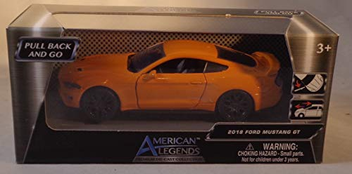 American Legends 2018 RED Ford Mustang GT 1/43 Scale