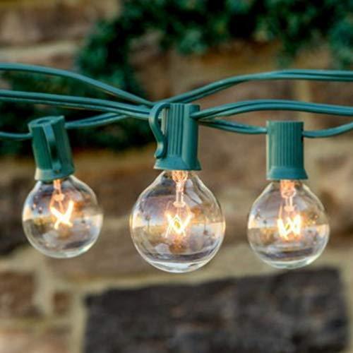 Bebliss lichtsnoer, waterdicht, met warme gloeilampen, decoratief licht voor huis, tuin, vakantie
