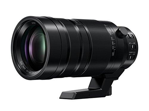 Panasonic H-RS100400E9 Leica DG VARIO-ELMAR Kamrea Objektive (100-400mm/F4.0-6.3, Premium Telezoom, Dual I.S., Staub-&Spritzwasserschutz, schwarz)