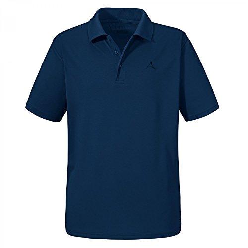Schöffel Herren Poloshirt Leuven1 22226 Dress Blues M