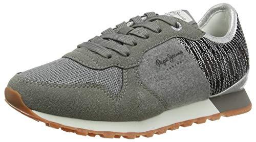 Pepe Jeans London Damen Verona W Cascade Sneaker, 489OZZY, 38 EU