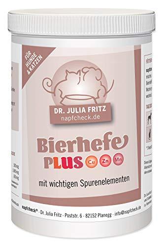 napfcheck Bierhefe Plus mit wichtigen Spurenelementen - für Hunde - 200 g