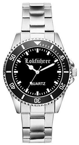 Geschenk für Lokführer Eisenbahner Uhr 2220
