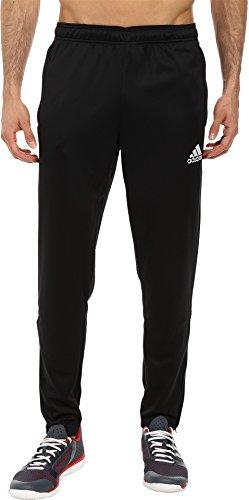 adidas Men's Core 15 Training Pants, Black/White, Medium
