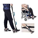 GFYWZ Beinheber, Dual Handle Lifting Beinbeweglichkeit für ältere, behinderte und behinderte Benutzer 2 STK -