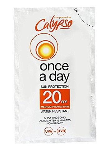 Calypso Once A Day Sun Protection Sachet SPF20-40 ml
