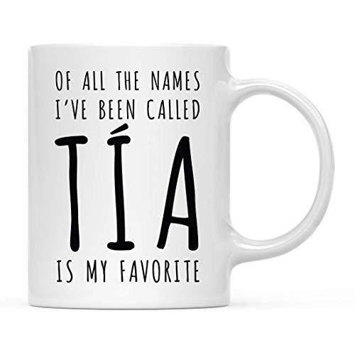 Tazza,Mug,Tazza MugDivertente famiglia di tutti i nomi che ho chiamato T & iacute; a è il mio preferito,(11Oz) 330Ml