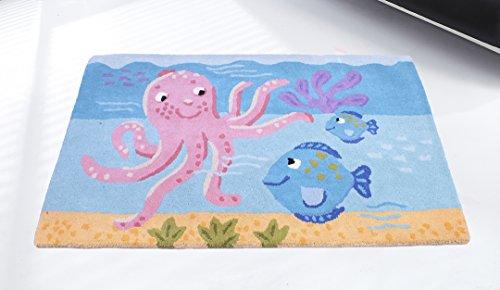 WEST DERBY CARPETS ONLINE LTD - eXtreme Tapis pour Enfants – Enfants Tapis – Enfant Unique Ultime de Poulpe Tapis 80 cm x 120 cm