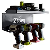 Ztorq Cordless Drill Tool Organizer - Drill Holder Storage Wall Mount Shelf Rack and Charging Station to optimize Garage Organization and Power Tool Storage