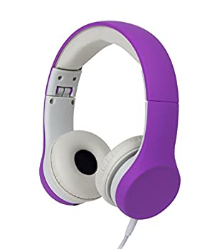 Snug Play+ Kids Headphones with Volume Limiting for Toddlers  Boys/Girls  - Purple