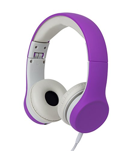 Snug Play+ Kids Headphones with Volume Limiting for Toddlers (Boys/Girls) - Purple