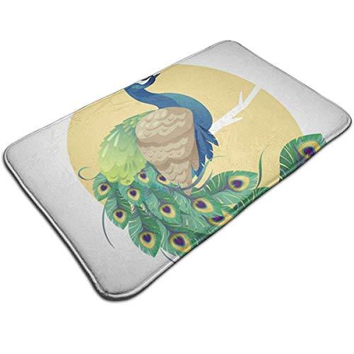 N/A Mooie drukkermat badmat ingangsmat vloermat tapijt binnen- / buiten/ badkamermatten antislip IV2-SA